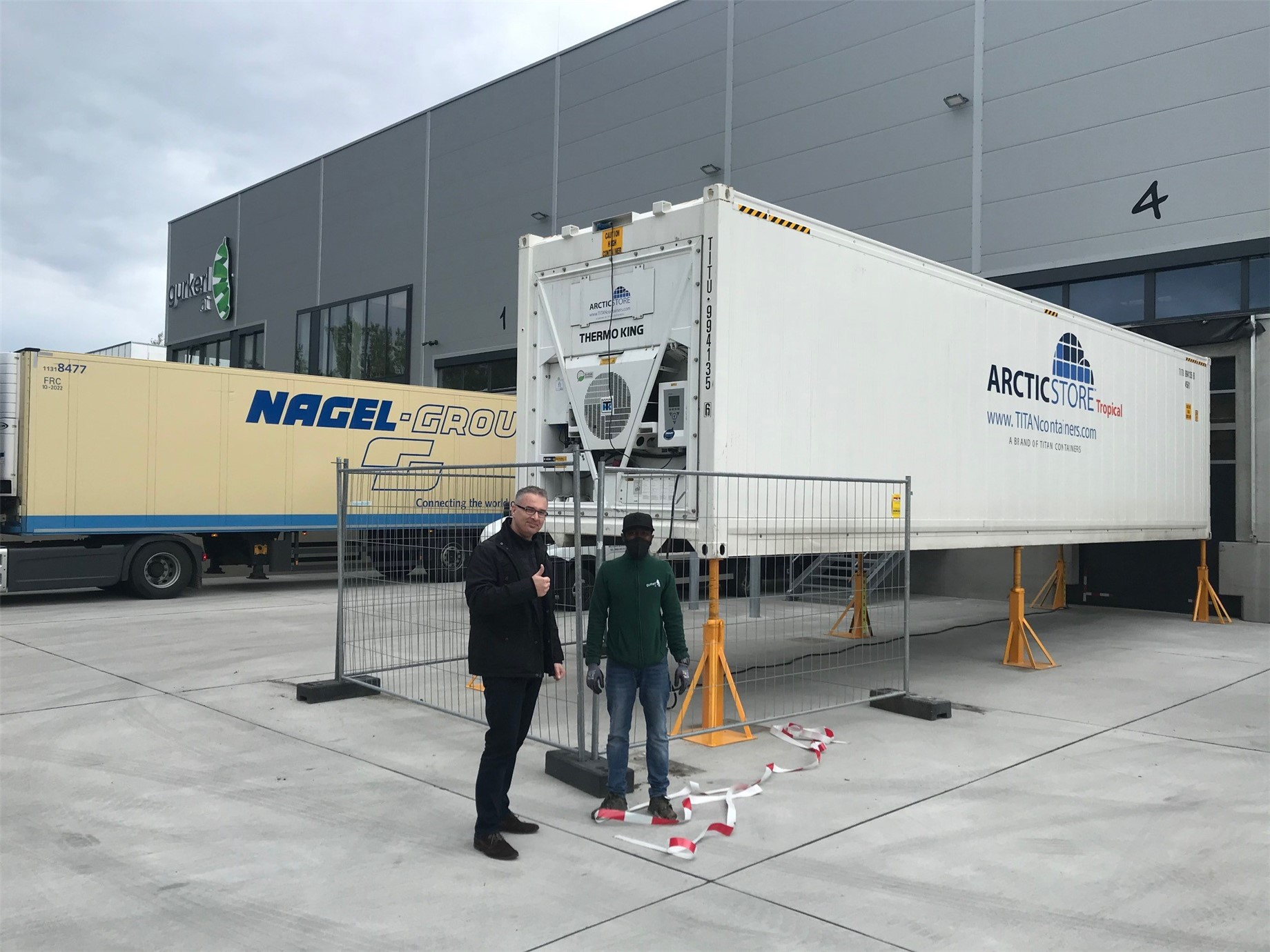 TITAN Austria delivered our brand new ...
