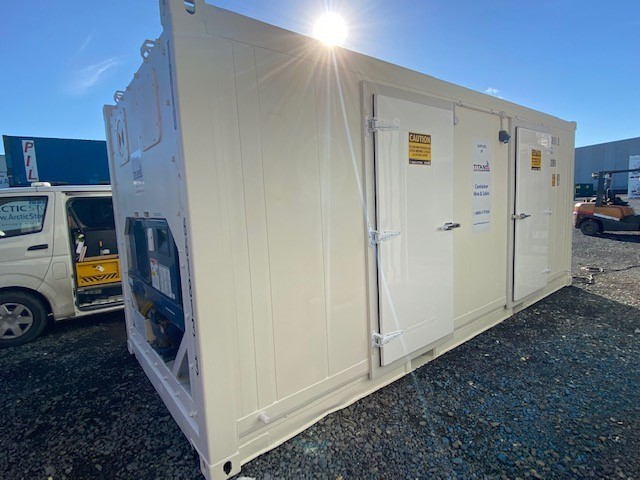 MODIFIED REEFER AT SHORT NOTICE